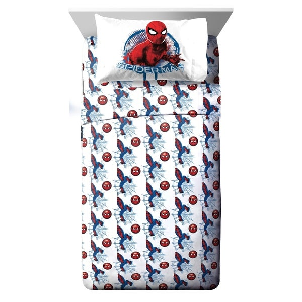 Marvel Spiderman Wall Crawler 3 Piece Twin Sheet Set 34475276