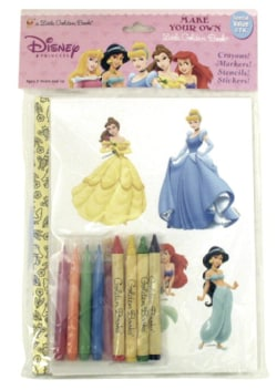 Disney Princess Make Your Own Little Golden Book (Hardcover)