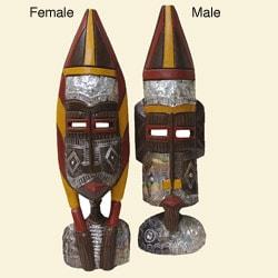 Fulani Wooden Sculpture (Ghana)