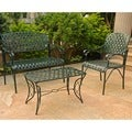 International Caravan Diamond Lattice Four-piece Settee Group