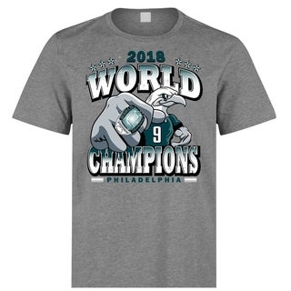 Philadelphia Eagles 2018 Super Bowl Champions T Shirt Limited Edition