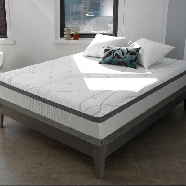Touch of Comfort 12-inch Gel Memory FoamQueen Size Mattress 34565912