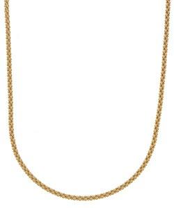 18k Gold over Silver Coreana Chain Necklace