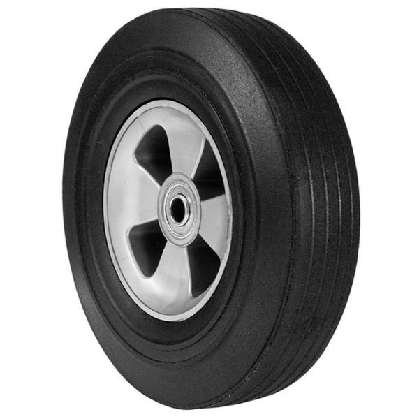 Arnold  Wheelbarrow Tire  10 in. Dia. 175 lb. Butyl Rubber 34665575