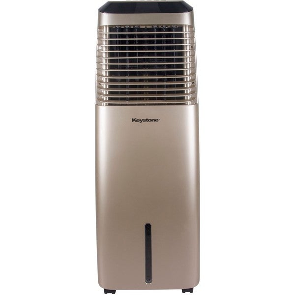 30-Liter Indoor Evaporative Air Cooler (Swamp Cooler) in Gold 34665941