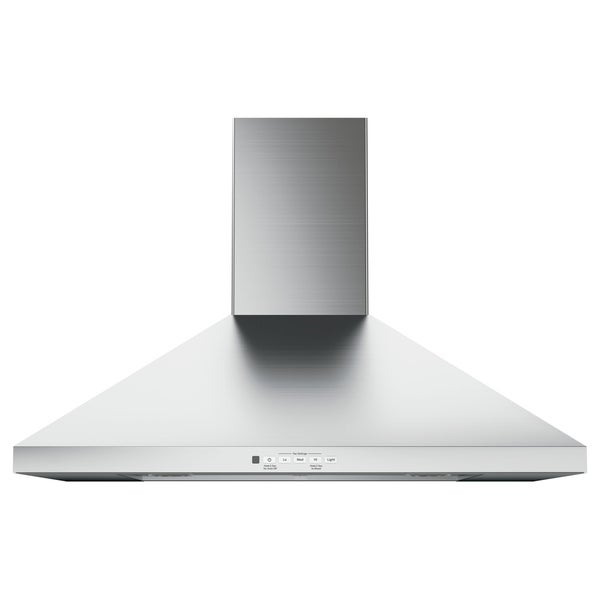 GE 30 IN Wall Mount Pyramid Chimney Hood in Stainless Steel 34666631