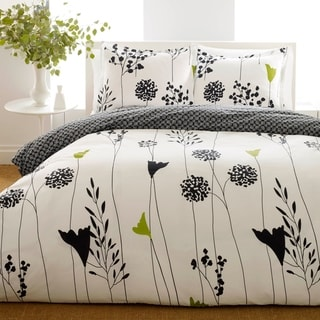 Perry Ellis Asian Lily Duvet Cover Set
