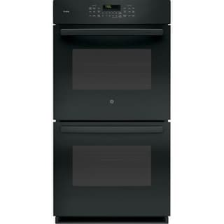 GE Profile Series 27 Inch Built-In Double Convection Wall Oven in Black 34667081