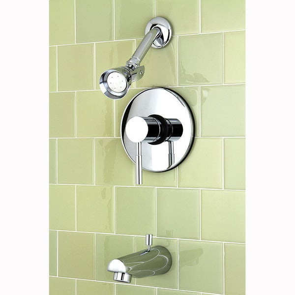 Concord Chrome Tub and Shower Faucet