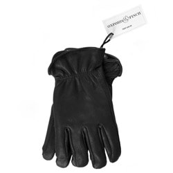 Oxford & Finch Men's Top Grain Deerskin Leather Gloves with Thinsulate Lining
