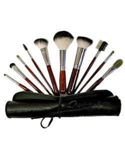 Professional Italian Badger 10 Brush Set