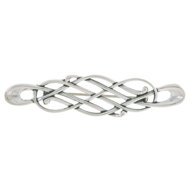 CGC Sterling Silver Celtic Knot Pin