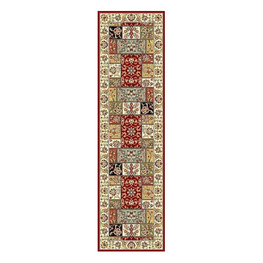 Safavieh Lyndhurst Traditional Multicolor/ Ivory Runner (2'3 x 8')