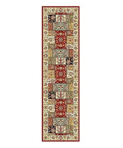 Lyndhurst Traditional Multicolor/ Ivory Runner (2'3 x 8')