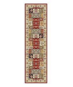 Lyndhurst Traditional Multicolor/ Ivory Runner (2'3 x 8')