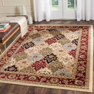 """Safavieh Lyndhurst Collection Traditional Multicolor/Red Runner (2'3"""" x 8')"""