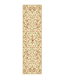 Safavieh Lyndhurst Collection Traditional Ivory/ Ivory Runner (2'3 x 8')