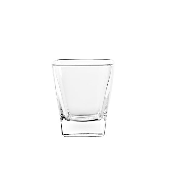 Majestic Gifts Glass D. O.F. Tumblers- Square -11 oz-Made in Europe S/6 34839254
