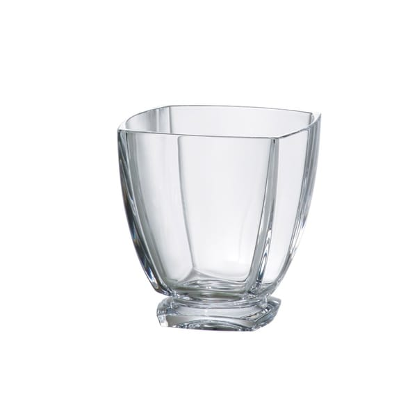 Majestic Gifts Square Old Fashioned Crystalline Tumblers- 10.75 oz-Made in Europe S/6 34859204