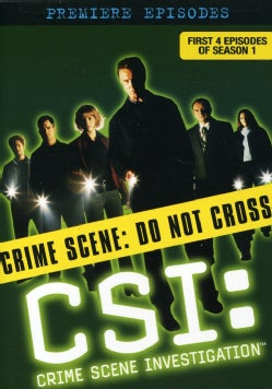 CSI: Crime Scene Investigation - The Premiere Episodes (Season 1 Eps 1-4) (DVD)