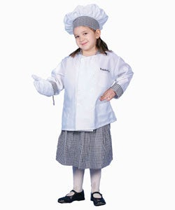 Girl with Skirt Deluxe Chef Dress-up Set