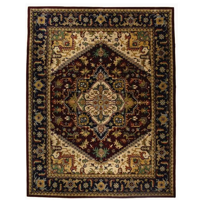 6 7 x 9 6 heriz design rug
