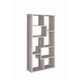 Carbon Loft Novatt Wood 8-shelf Bookcase