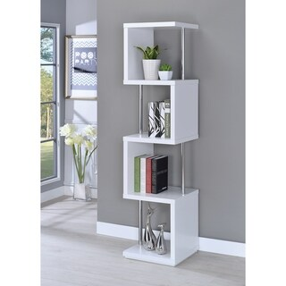 Modern 4-tier Bookcase