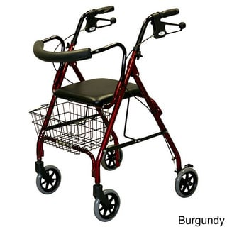 Medline Deluxe Aluminum Rollator Walker