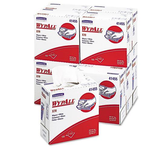 Kimberly Clark Corporation WYPALL X70 Pop-Up-Box White Wipers (Case of 1000) at Sears.com