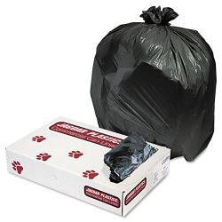 Jaguar Plastics 33 Gallon Black Commercial Can Liners (Case of 200)