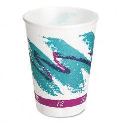 SOLO 12-oz Trophy Symphony Design Foam Hot/Cold Drink Cups (Case of 1,000)
