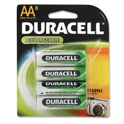 Duracell Rechargeable Ni-MH AA Batteries (Pack of 8)