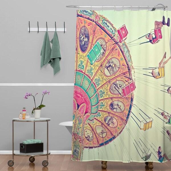 Shannon Clark Dizzying Heights Shower Curtain 34977070