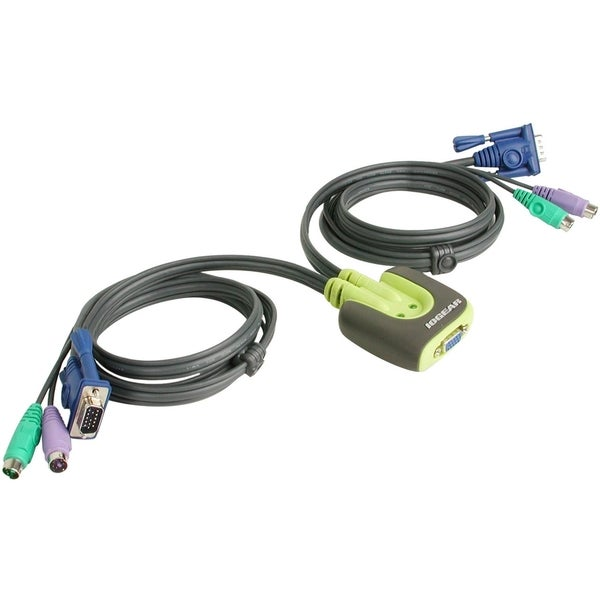 IOGEAR MiniView Micro GCS62 KVM Switch