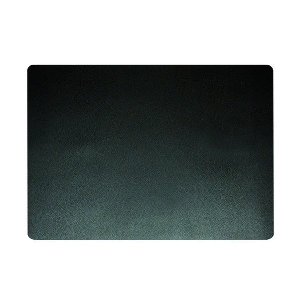 "12"" x 17"" Eco-Black Desk Pad with Microban, Black 35012238"