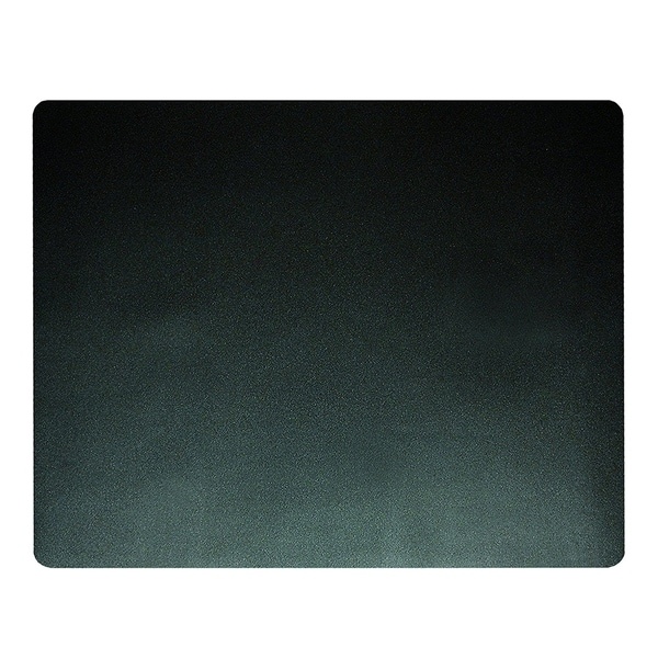 "19"" x 24"" Eco-Black Desk Pad with Microban, Black 35012281"