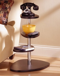 Espresso 4-tier Accent Table