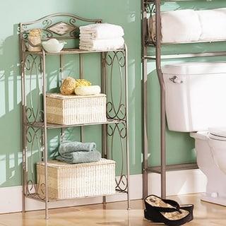 Reflections 3-tier Metal Bathroom Storage Rack