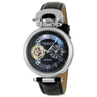 Stuhrling Original Emperor Men's Open Heart Watch