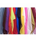 Symphony Designs Assorted Solid Color Scarves (Pack of 6)