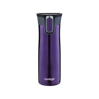 Contigo Autoseal West Loop  Tumbler  Purple  Stainless Steel  Travel Mug  20 oz. 35121443