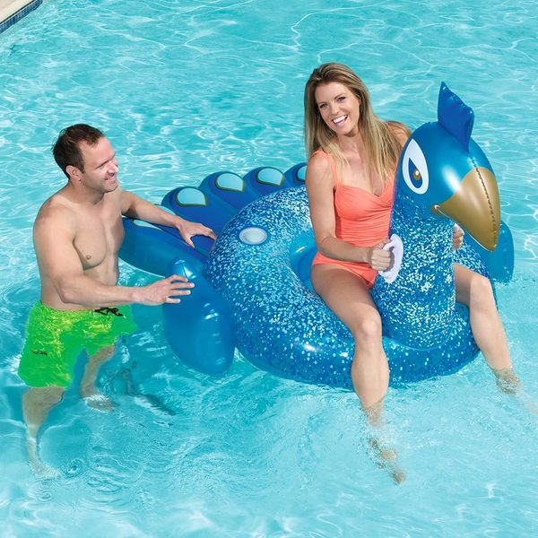 Bestway Pretty Peacock Ride-On Float for Swimming Pools 35147156