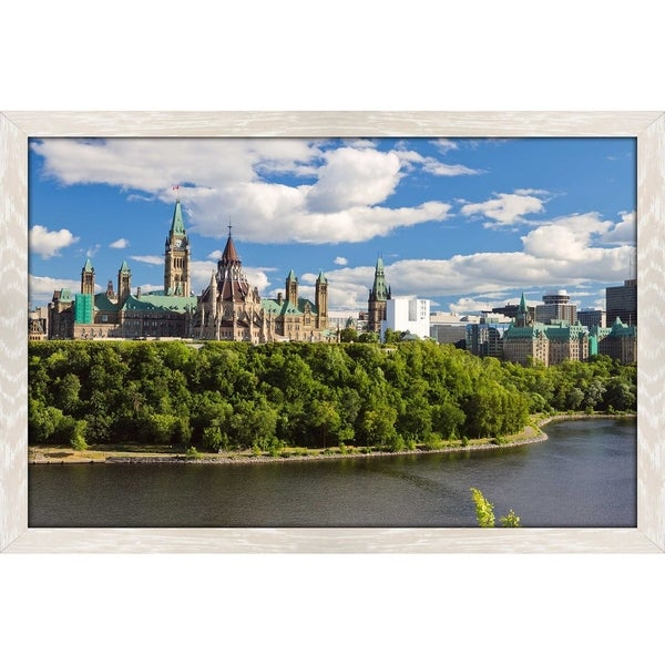 """Oh Canada"" Framed Acrylic Wall Art 35158073"