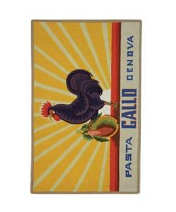 Safavieh Hand-hooked Vintage Poster Ivory Wool Runner (2'6 x 4')