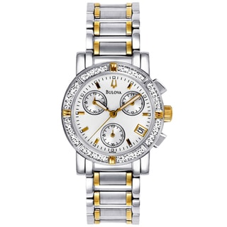 Bulova Women's Chrono Diamond Watch