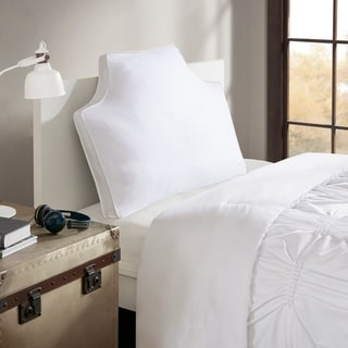 Intelligent Design Oversized Headboard Cotton Canvas Pillow