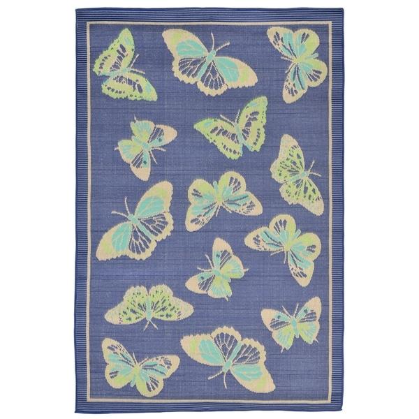 Papillions Outdoor Rug (3'3 x 4'11) - 3'3 x 4'11 35229392