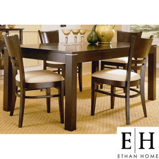 ETHAN HOME Venice Espresso Contemporary 5-piece Dining Set