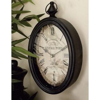 The Gray Barn Joyful Stream Metal Wall Clock (Set of 2)